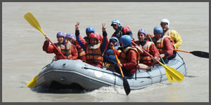 indus valley river water rafting